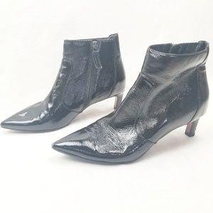 Aquatalia Marilisa Leather Pointy Toe Booties |131